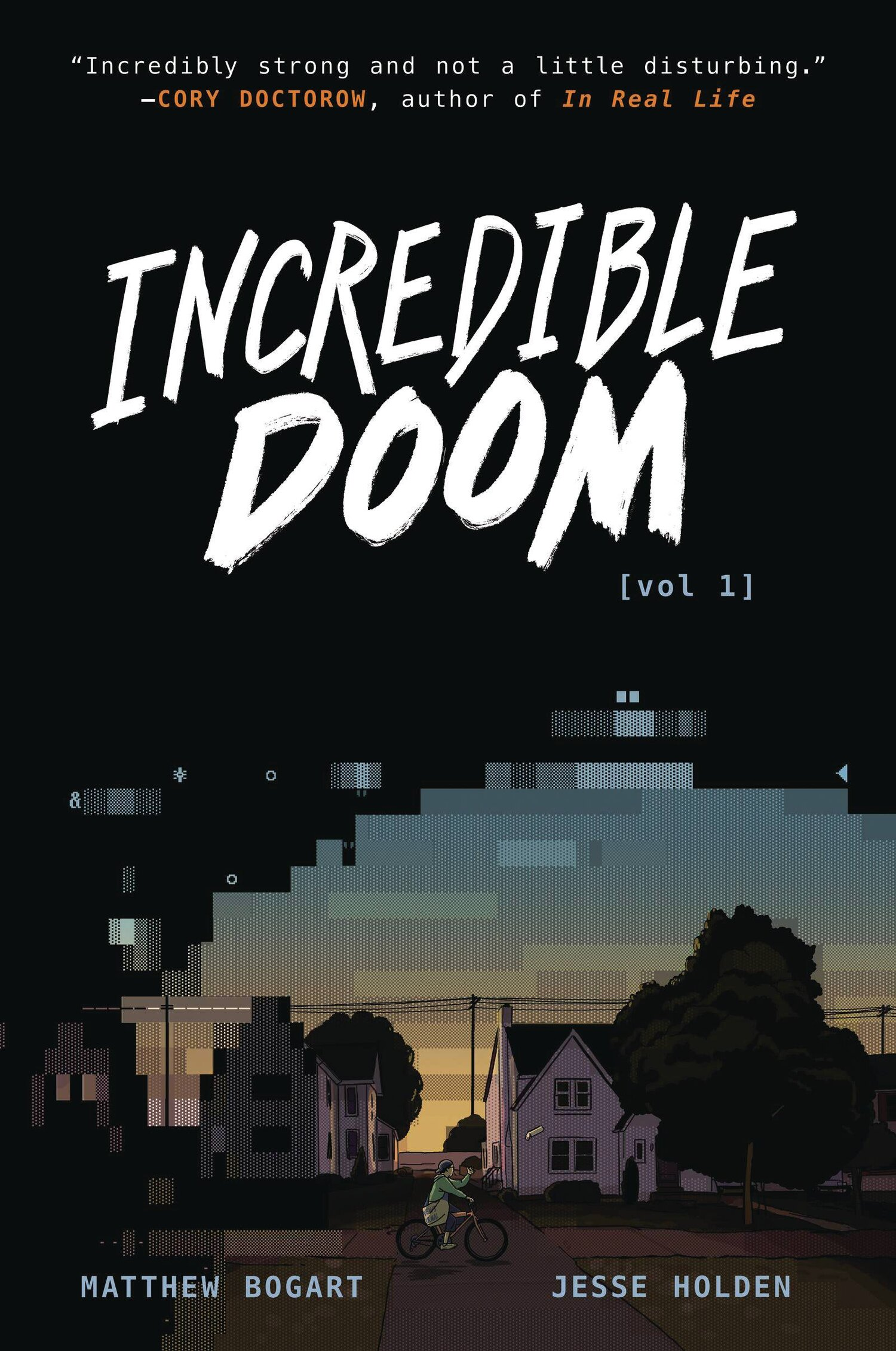 Incredible Doom Vol. 1 front cover