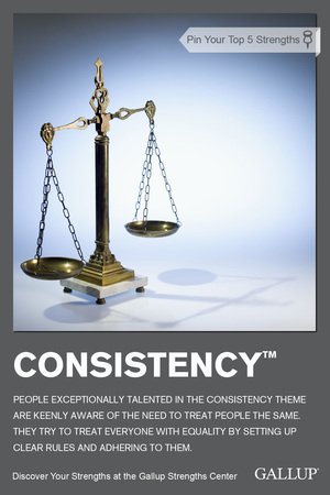 Consistency Talent Theme StrengthsFinder Singapore