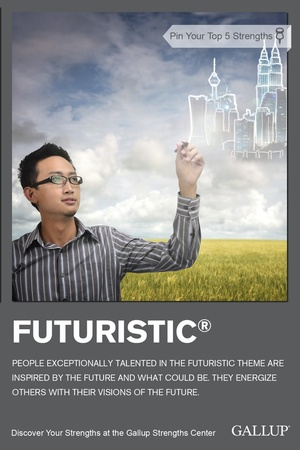 Futuristic Talent Theme StrengthsFinder Singapore