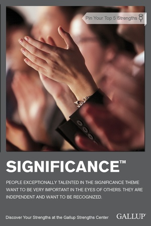 Significance Talent Theme StrengthsFinder Singapore