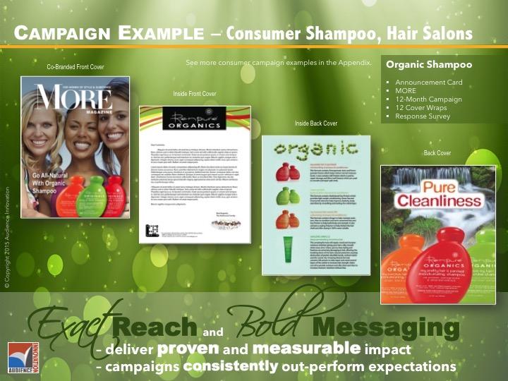 CONSUMER – Shampoo, Hair Salons