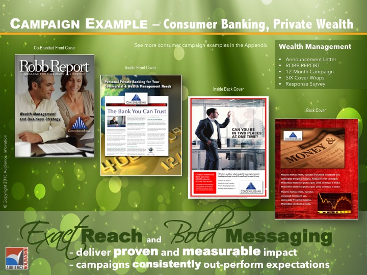 BUSINESS – Banking, Private Wealth
