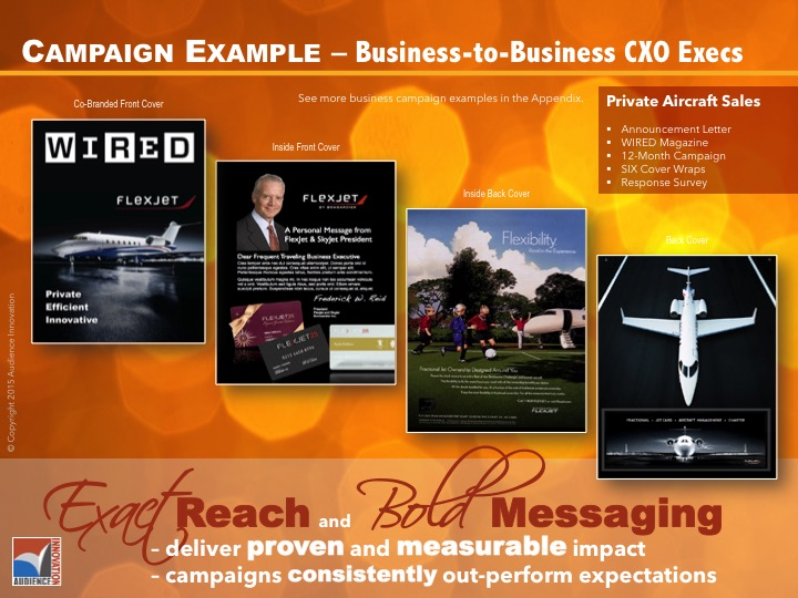 BUSINESS – Private Aircraft, C-Suite Executives