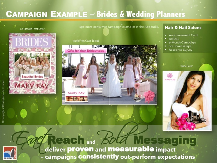 BUSINESS & CONSUMER – Wedding Planners & Brides