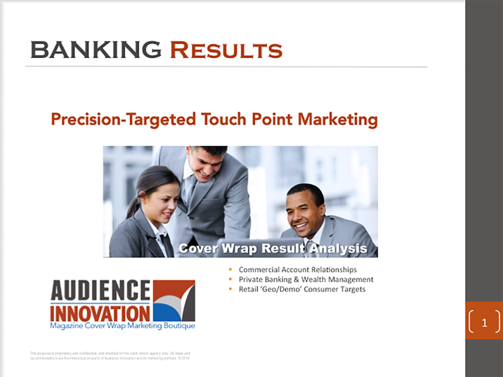 AUDIENCE INNOVATION - Precision Targeted Cover Wrap Marketing Campaigns, Banking Industry - Slide01.png