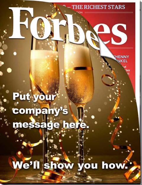 Audience Innovation Magazine Cover Wrap Marketing