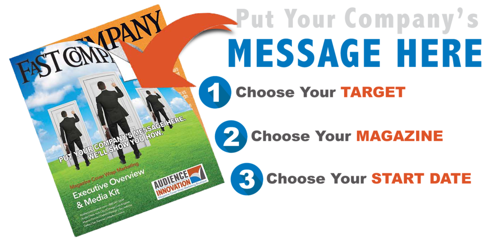 Audience Innovation Magazine Cover Wrap Marketing Simple Steps