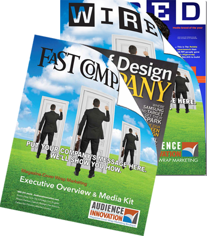 Audience Innovation Magazine Cover Wrap Marketing Media Kit