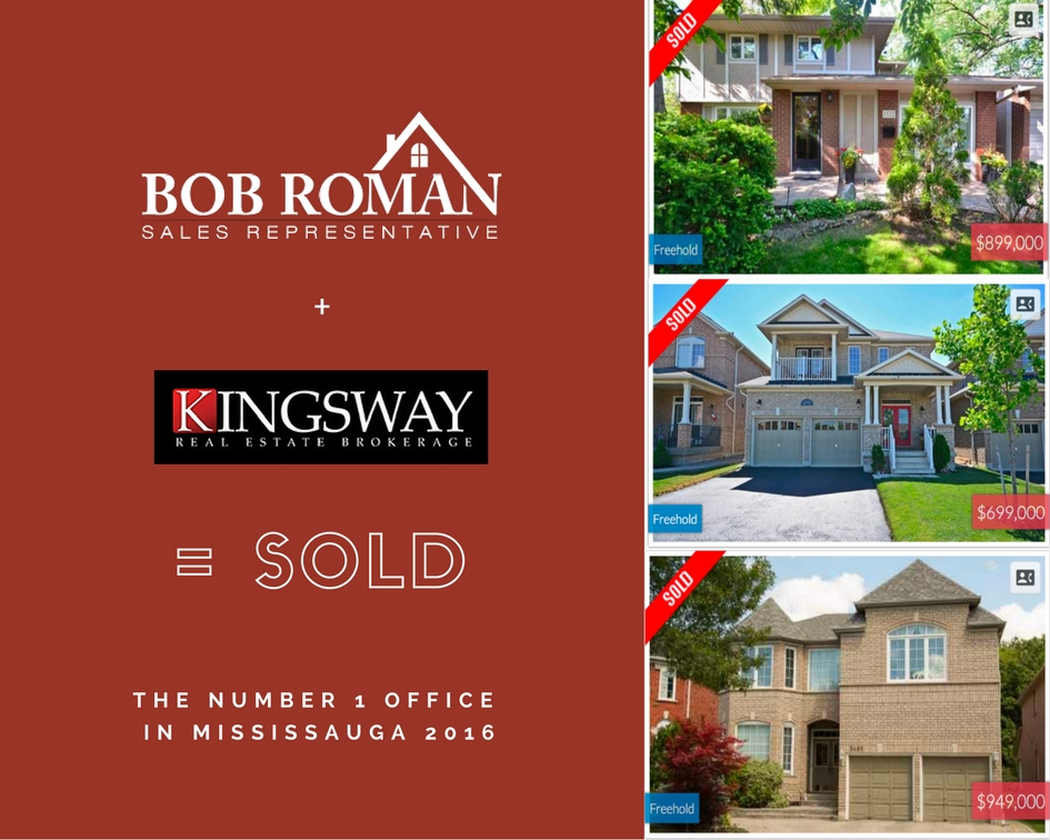 Kingsway Real Estate is a leading independent brokerage with over 700 agents.