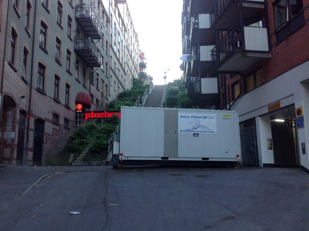 Linnégatan Göteborg: Renovering av Garage för HTE Produktion AB 2018