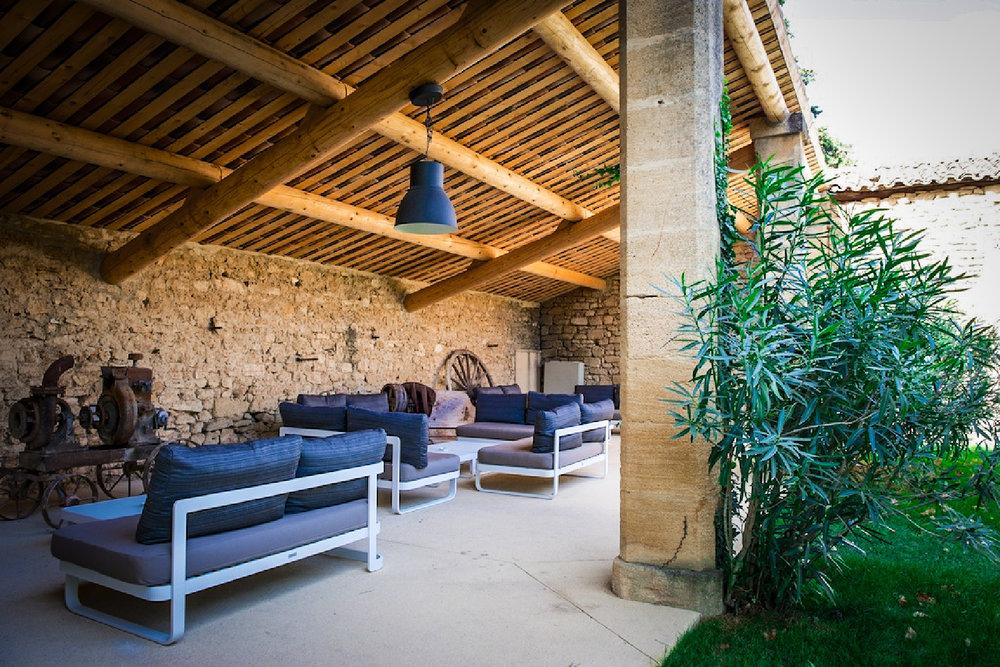 Lounge - - idyllische hotels - La bégude Saint Pierre - Reizen met kinderen - Pont de Gare
