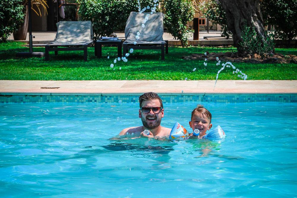 Zwembad - - idyllische hotels - La bégude Saint Pierre - Reizen met kinderen - Pont de Gare