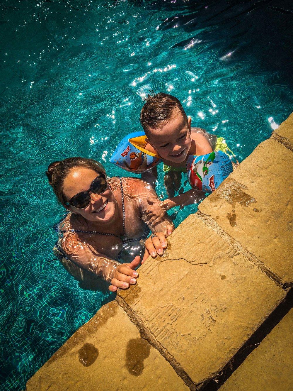 Zwembad - idyllische hotels - Castell d'Emporda - Reizen met kinderen