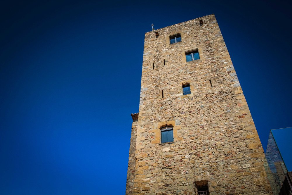 Toren - idyllische hotels - Castell d'Emporda - Reizen met kinderen