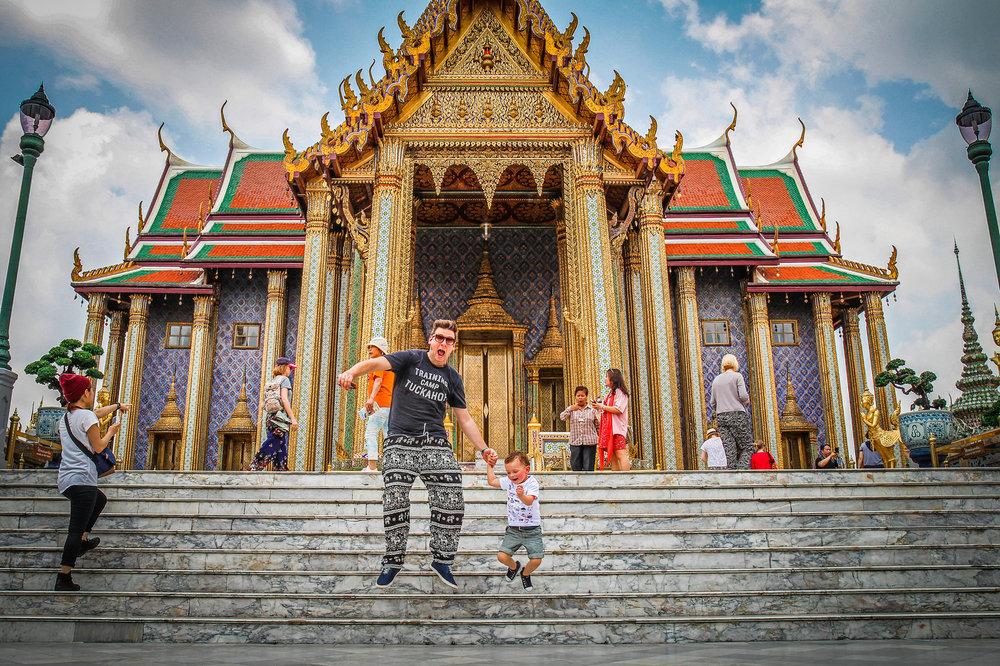 Reizen met Kinderen Thailand Bangkok Grand palace.jpg