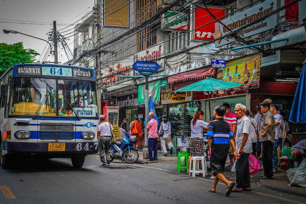 Reizen met Kinderen Thailand Bangkok Traffic.jpg