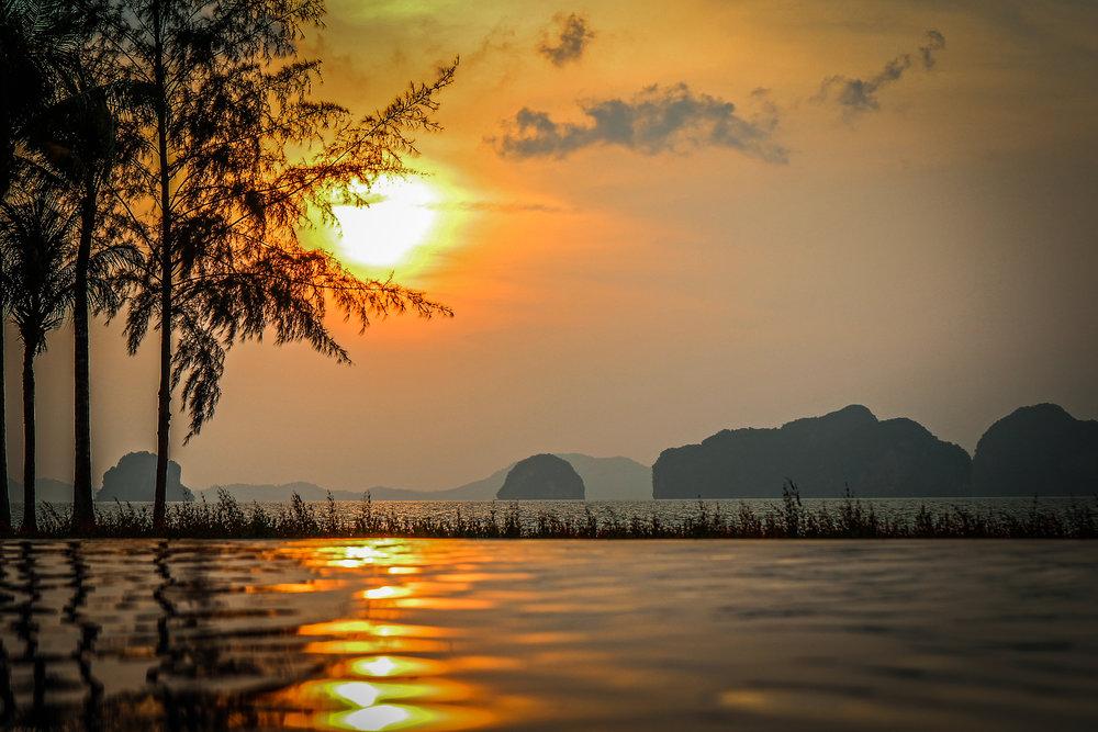 Reizen met Kinderen Thailand Zuiden sunset.jpg