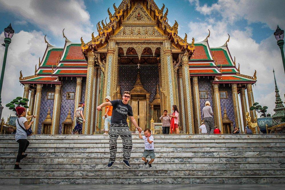 Bangkok met kinderen - Grand Palace