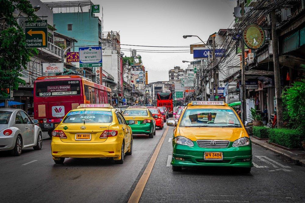 Bangkok met kinderen - Fille