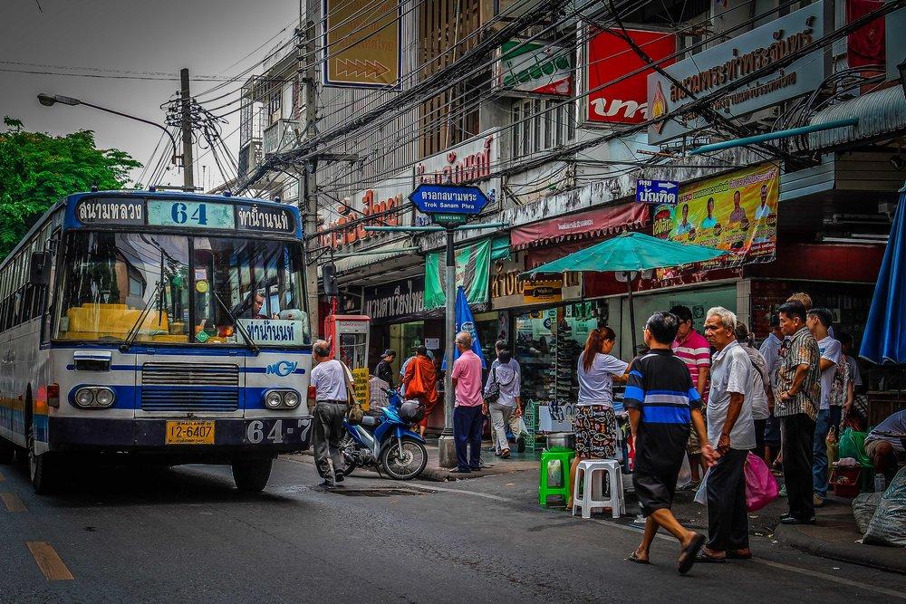 Bangkok met kinderen - Straten