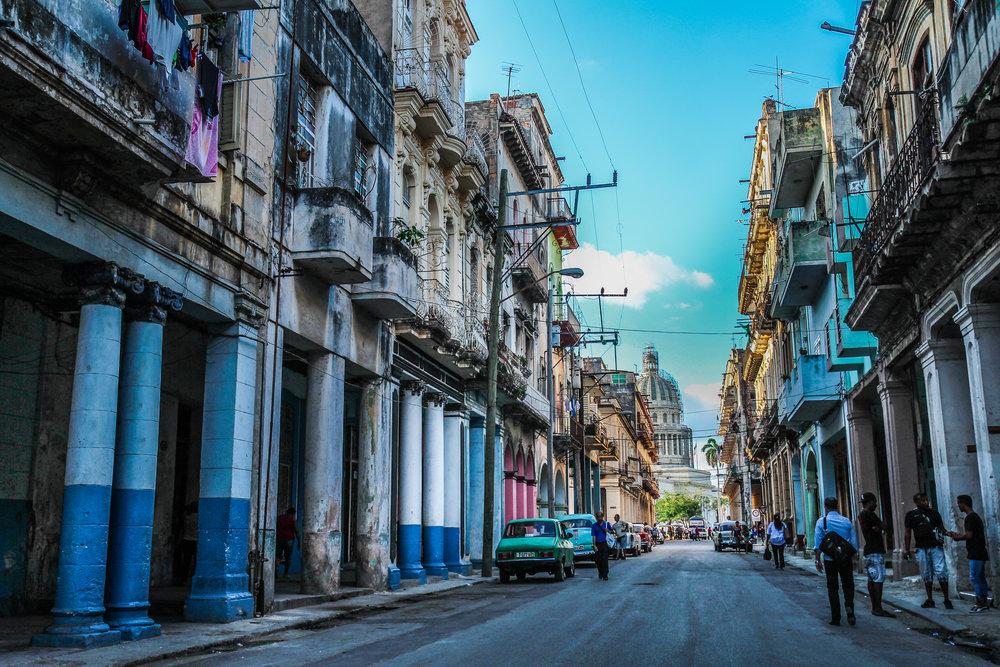 Havana bezoeken met kinderen - Capitol