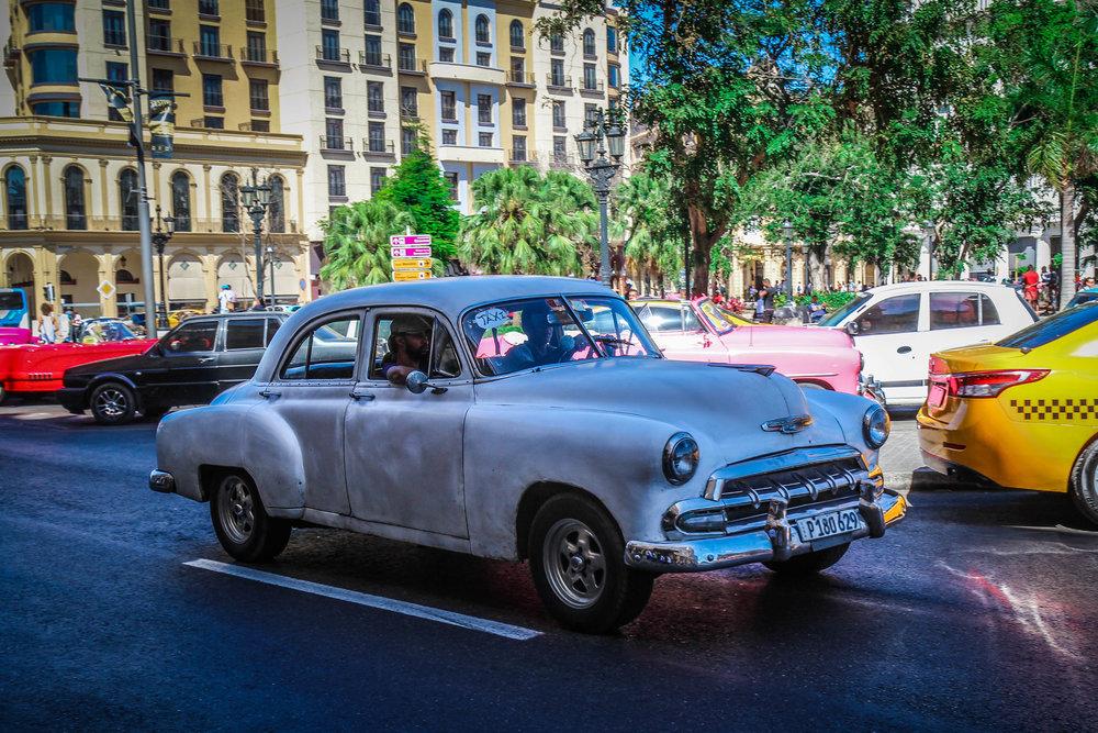 oude auto in havana