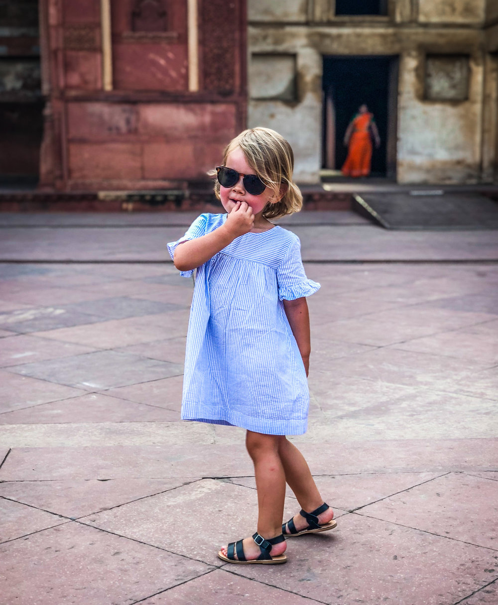 Reizen met kinderen - India