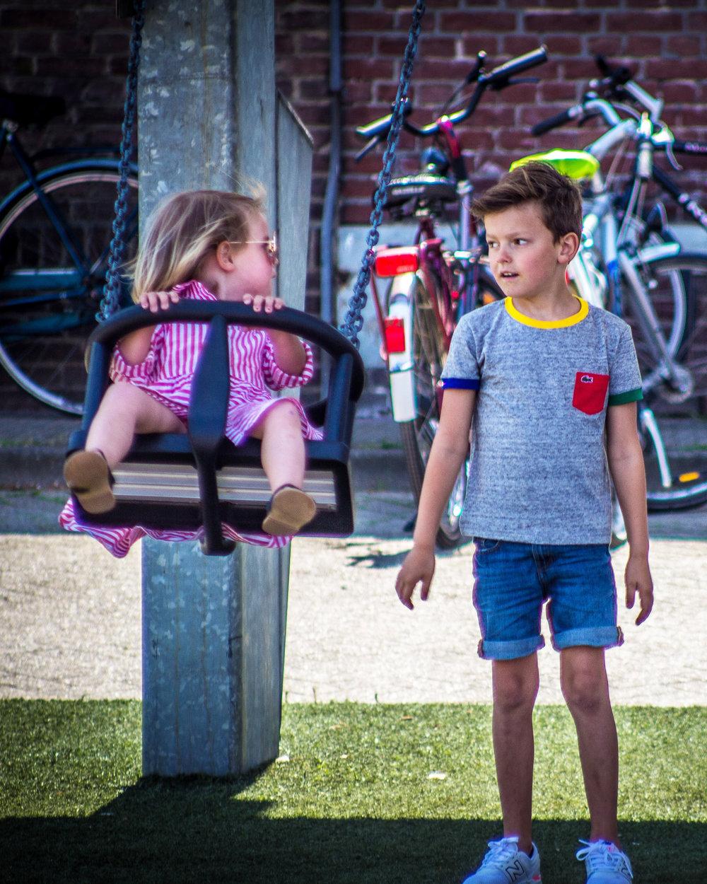 Tapijn - Maastricht - kindvriendelijk - Schommel