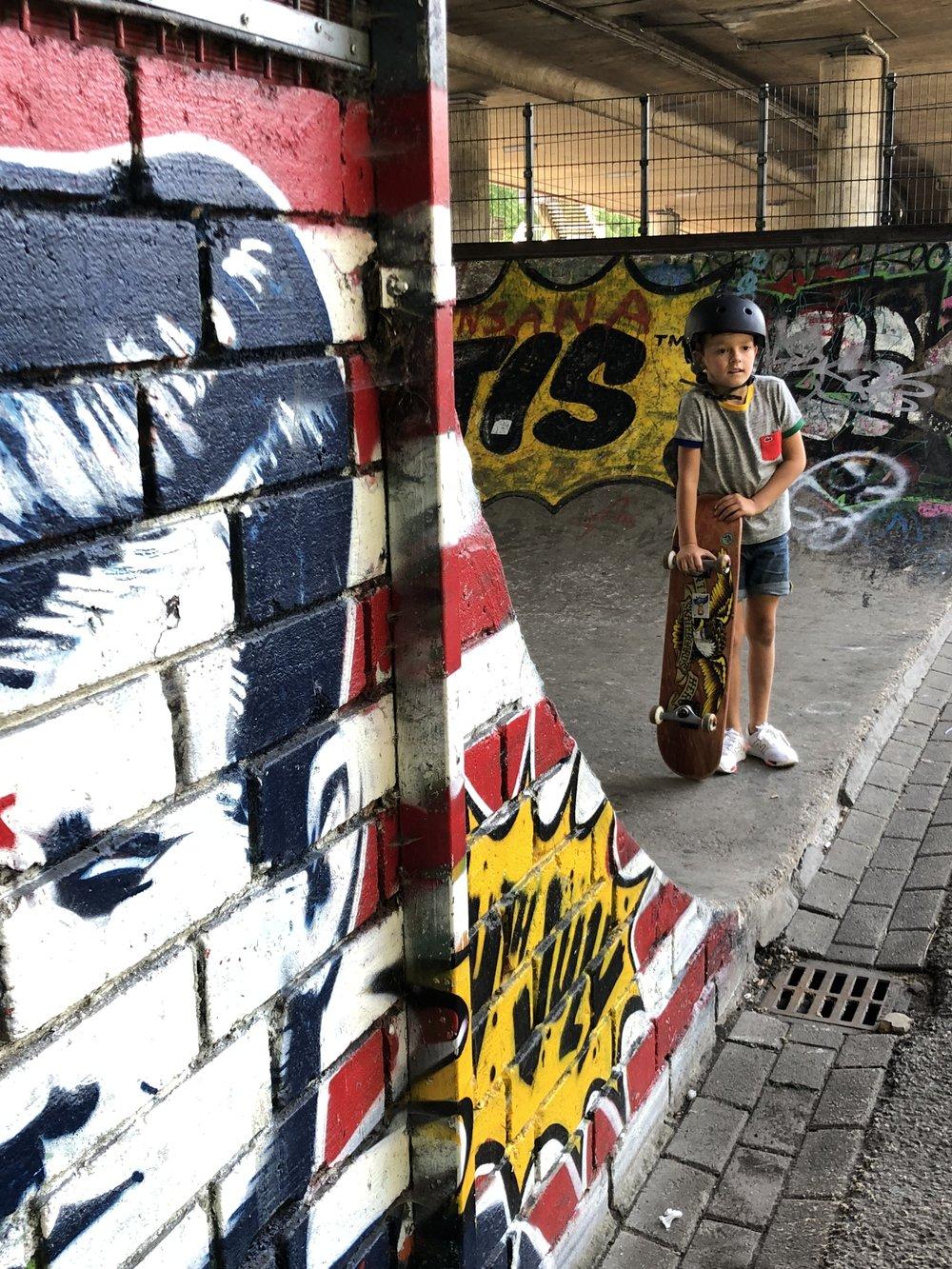 JFK Skatepark Maastricht - Reizen met kinderen