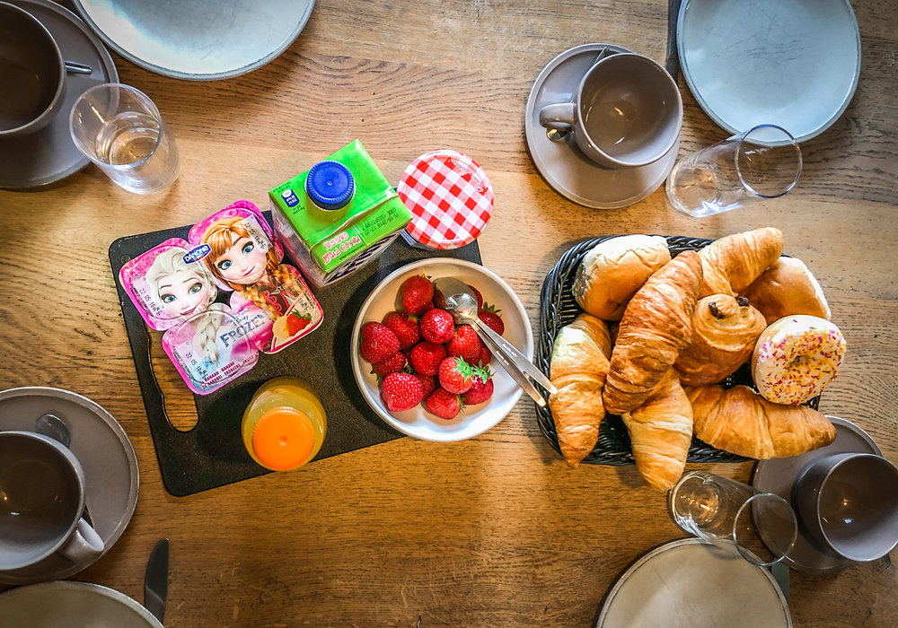 Landal - hoog vaals - met kinderen - ontbijt