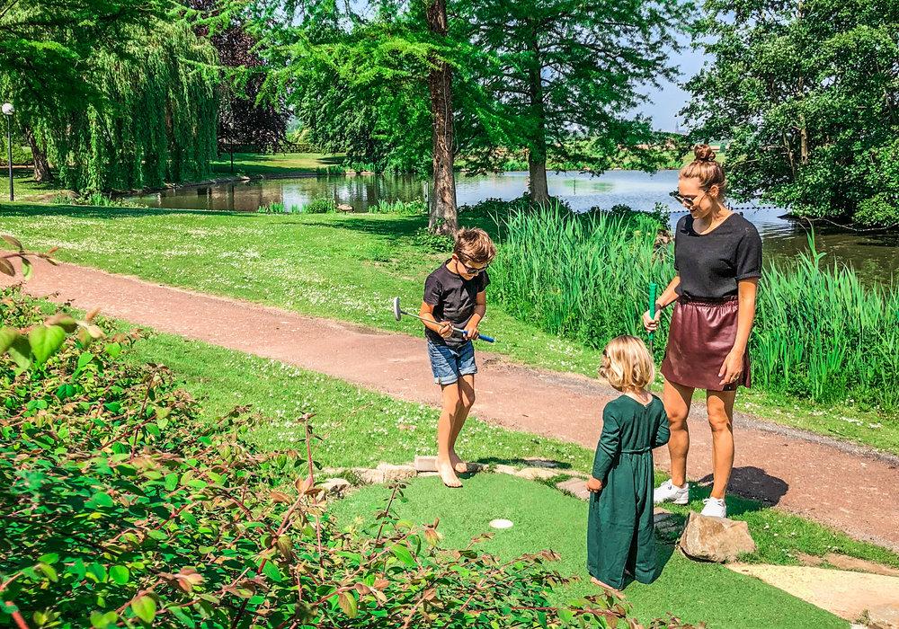 Landal - hoog vaals - met kinderen - minigolf
