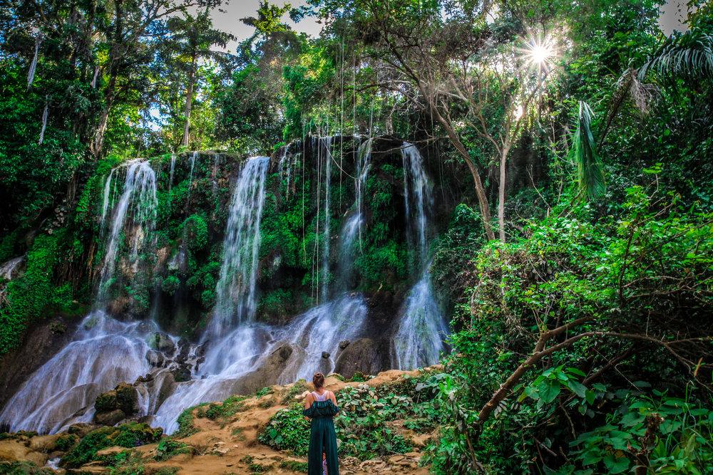 Watervallen cuba
