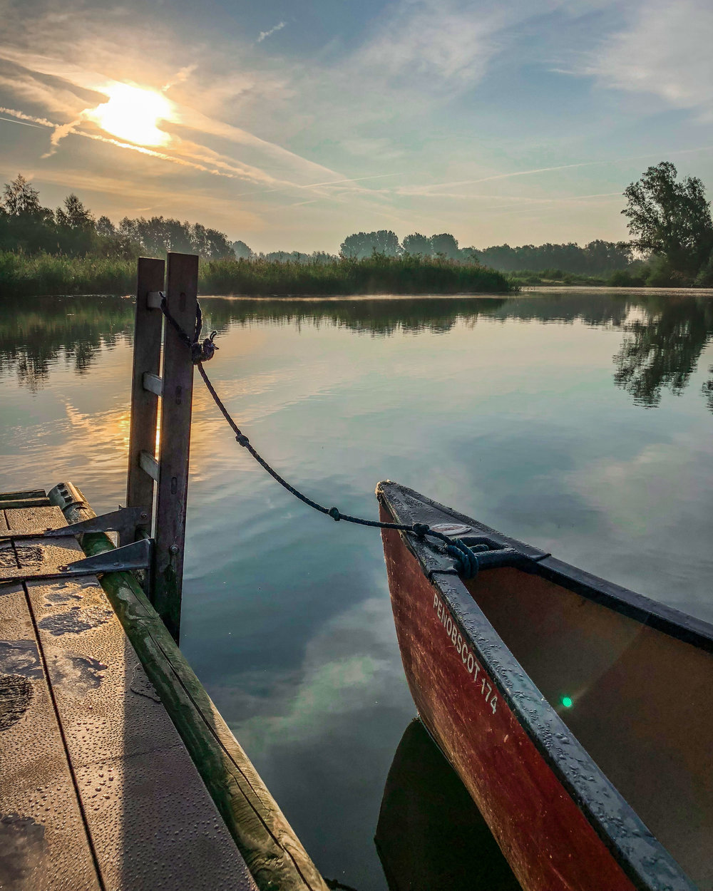 kano aan kampeervlot