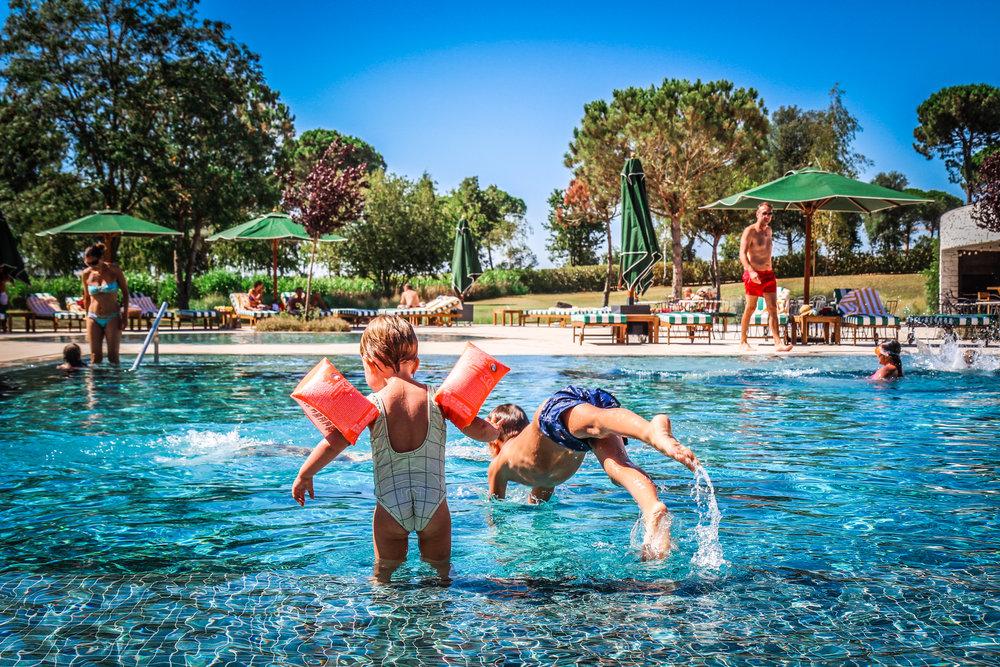 Zwembad Hotel Camiral Catalunya - Kinderen