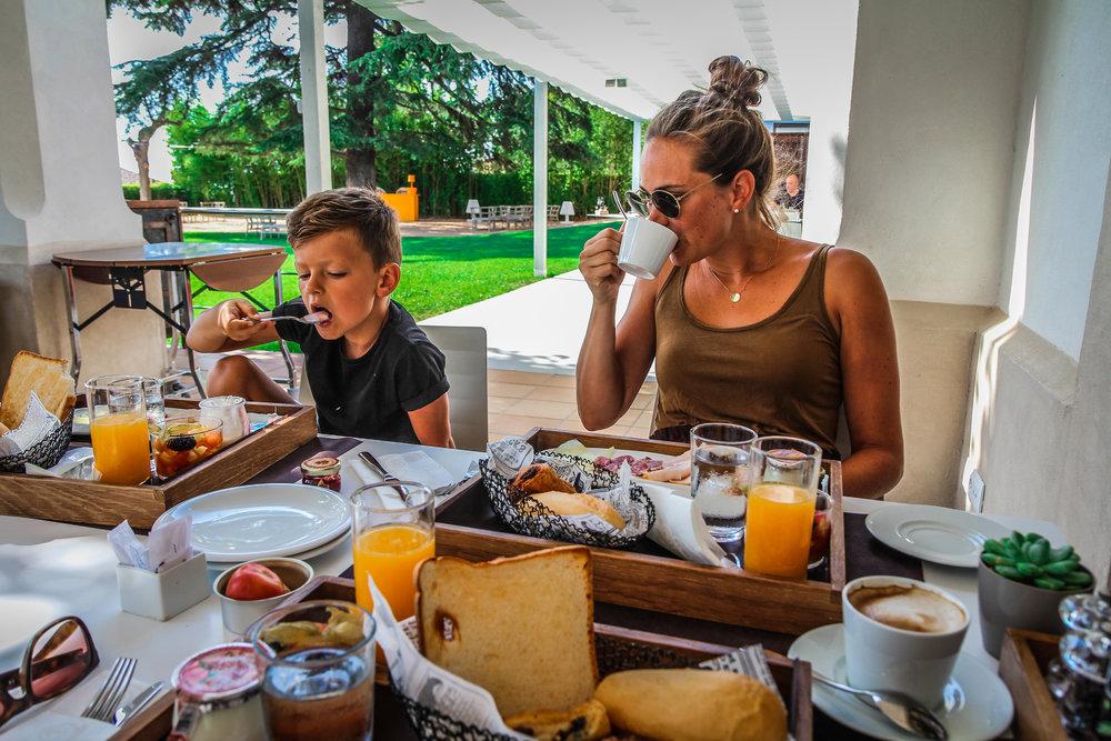 Arrey Alella Hotel  - Ontbijt