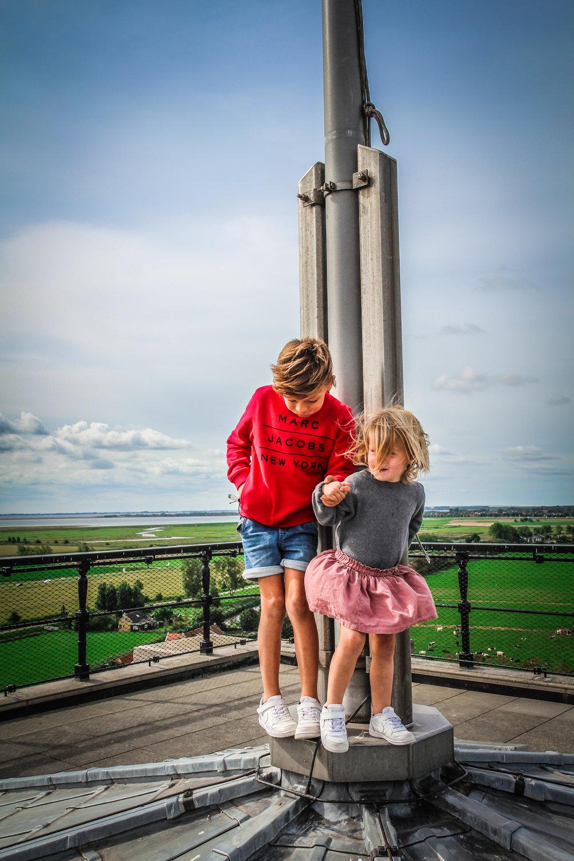 Goedereede toren - Uitzicht