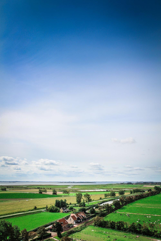 Goedereede toren - Landschap