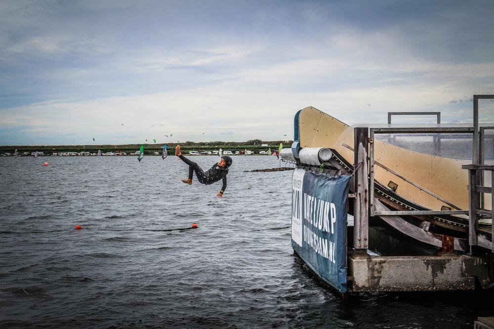Brouwersdam - waterjump - met kinderen