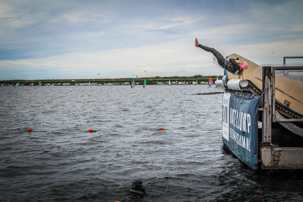 Brouwersdam - waterjump - activiteit