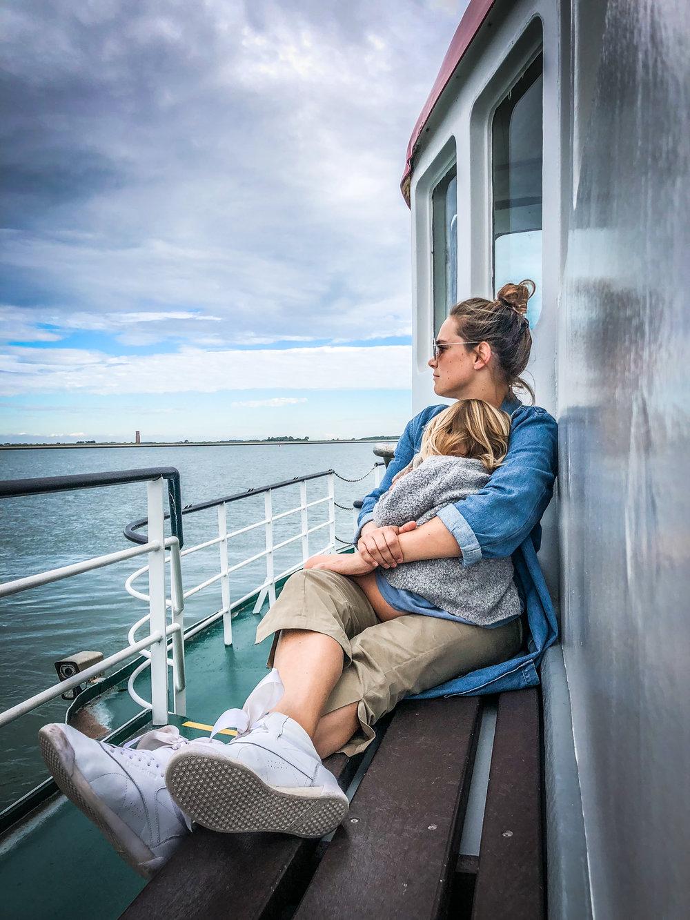 Oosterschelde - Rondvaart - Zeehonden spotten - mama dochter