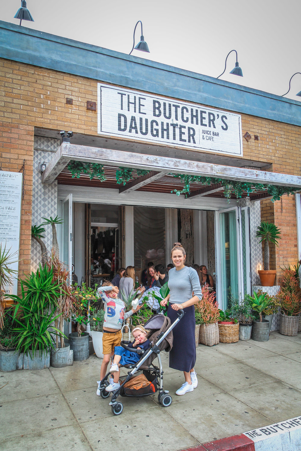 venice beach abbot Kinney road gjelina butchers daughter