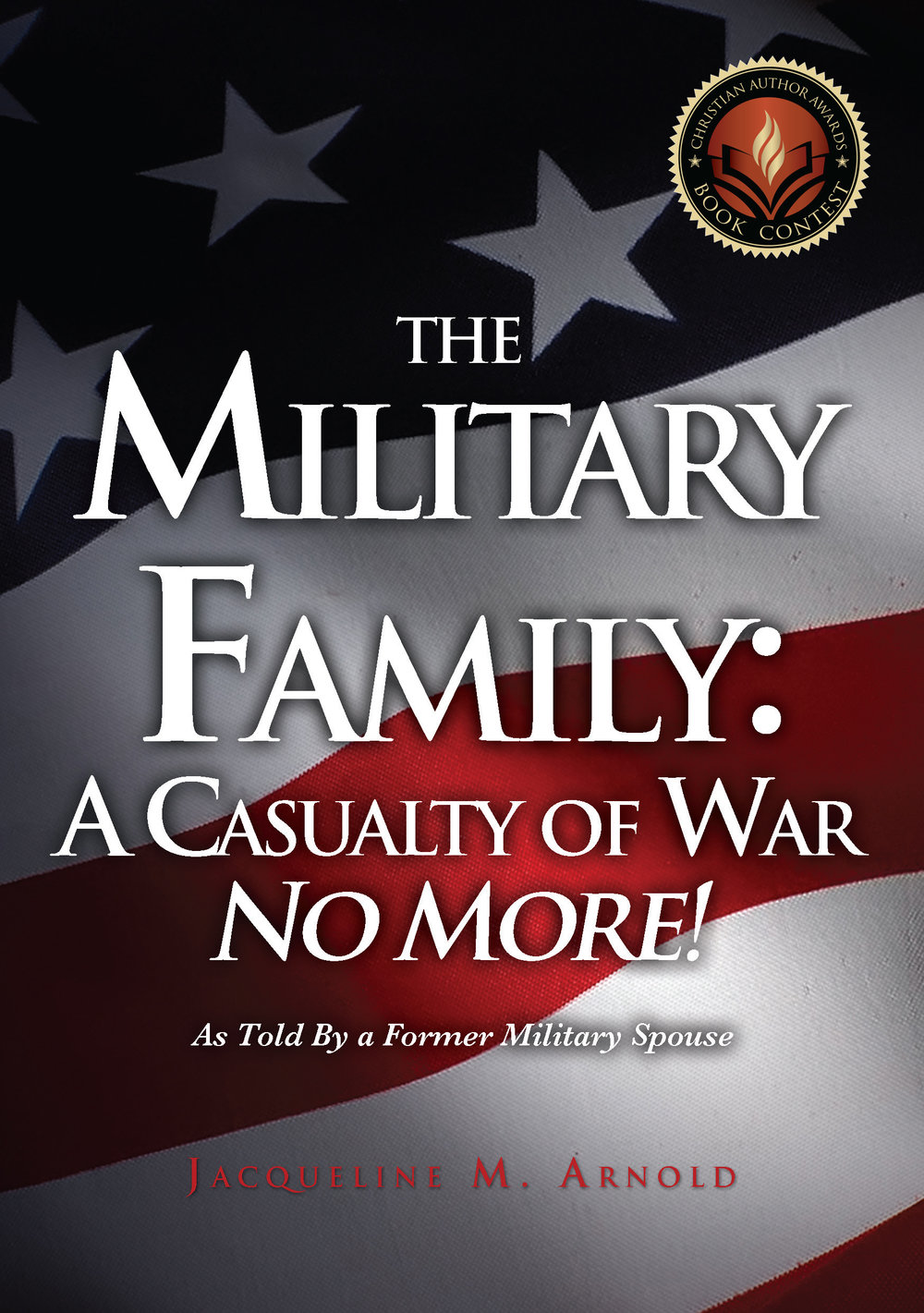 The Military Family No More! Cover with Award Seal.jpg