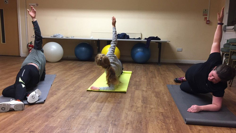 CanDu Fitness Core and strength and conditioning class