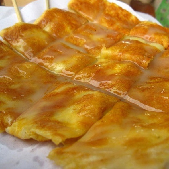 Roti Gulay, A sweet pastry.