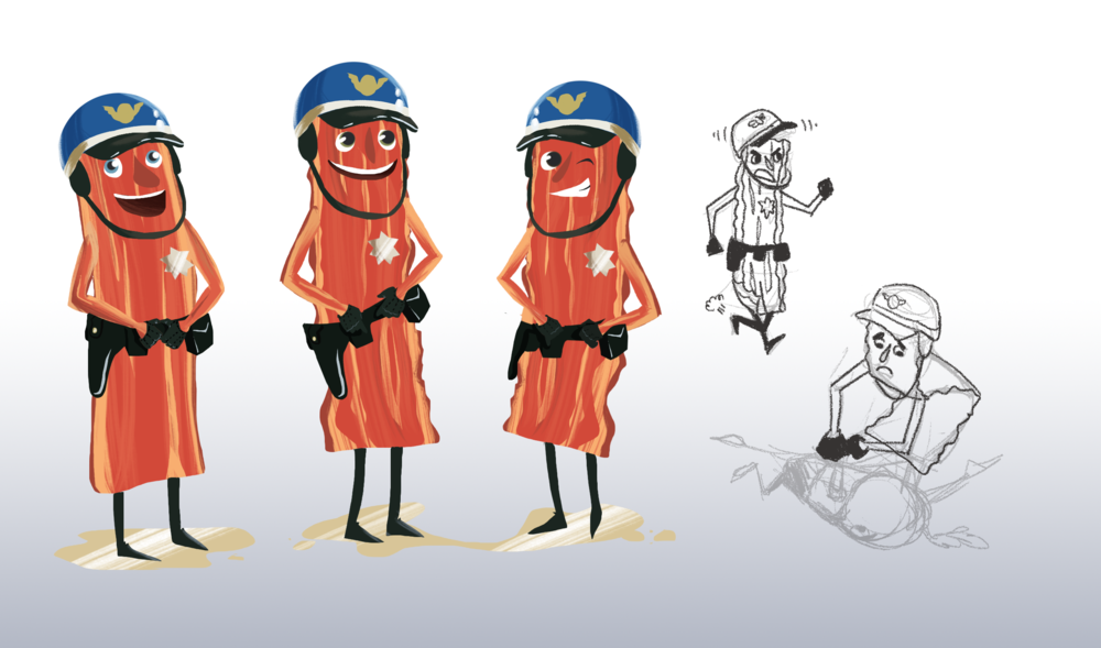 Bacon Cops