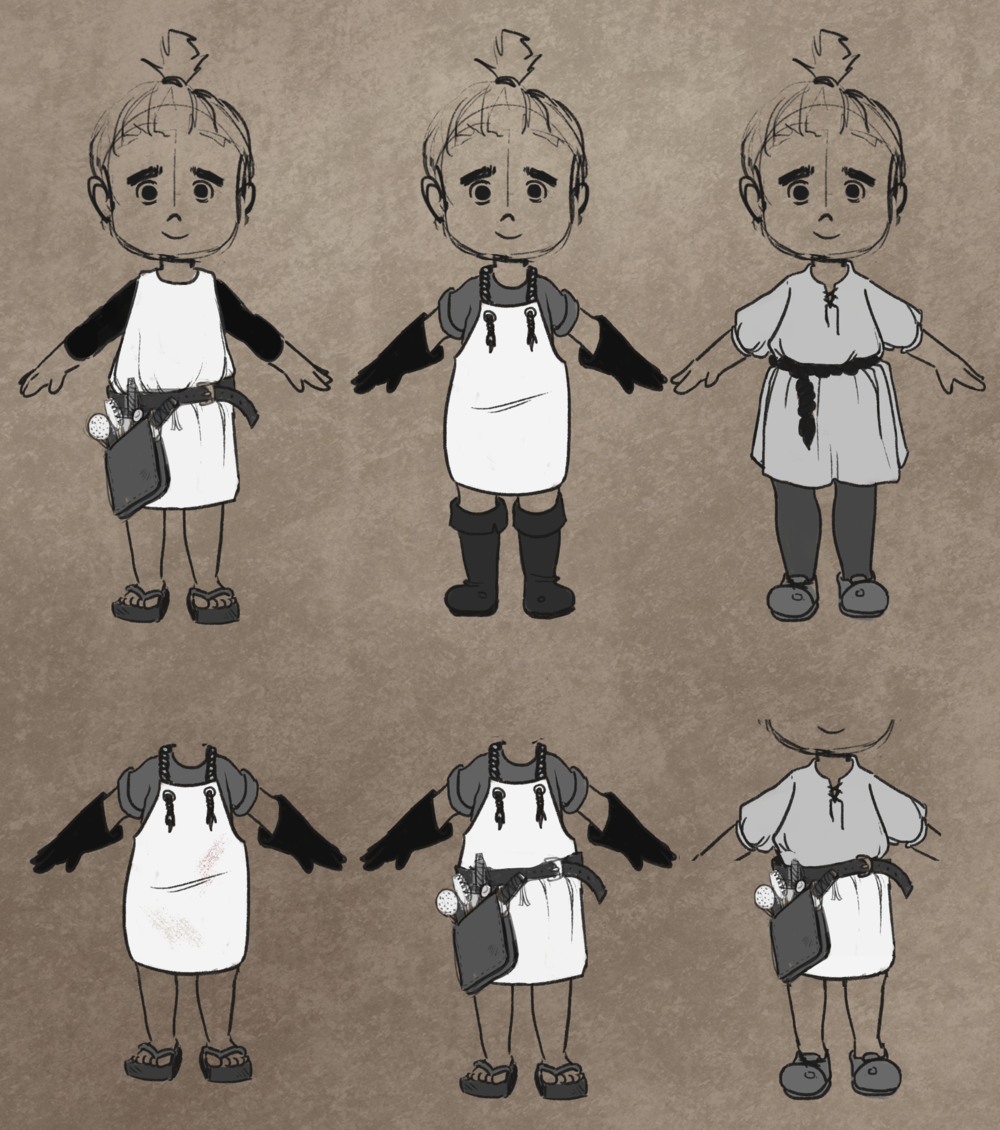 Vendor Boy NPC Design