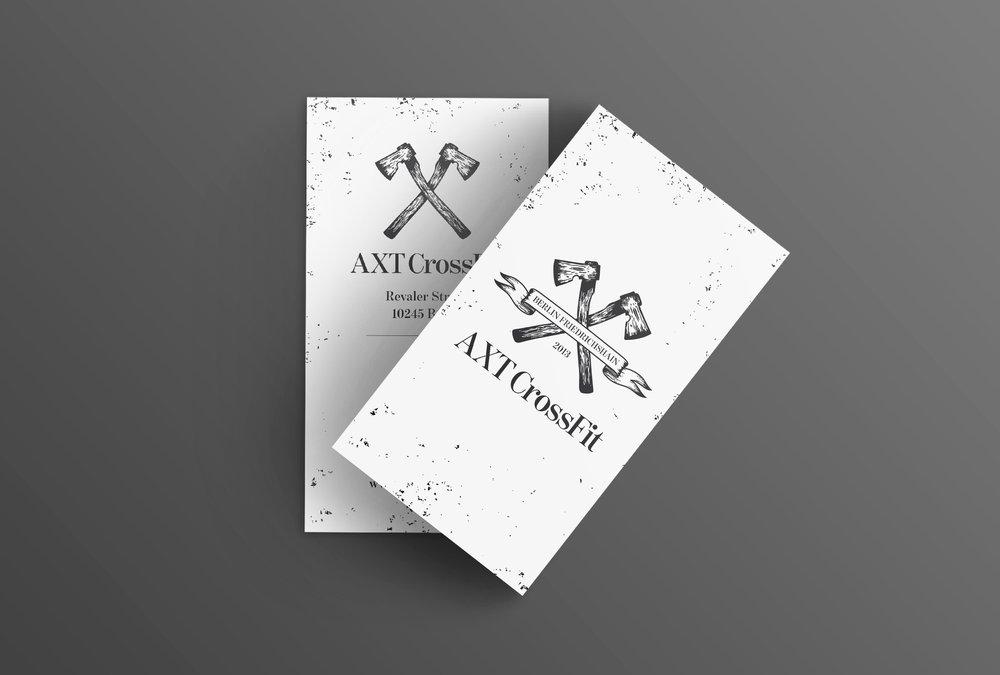 AXT CrossFit Corporate Design