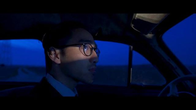 A screen shot from the music video I've been directing and filming for the French singer Tallisker. #car #driver #nightscene #musicvideo #france
