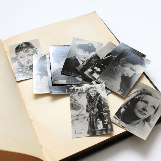 collectible film star cards from 1930's - paperiaarre.com