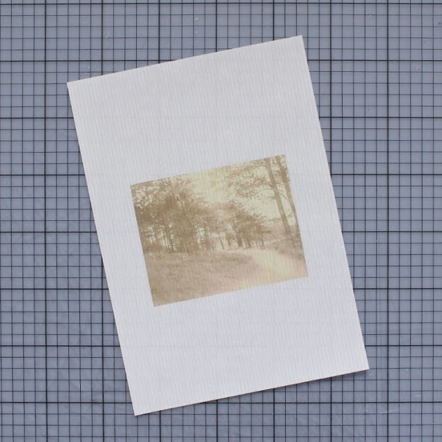 diy: mixed paper envelopes - photo printed on vellum paper / paperiaarre.com